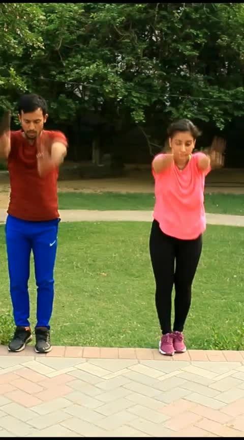 ladki me dum h #fitnessgoals #parkour #gymnasticslife #roposo-sport #gurgaon