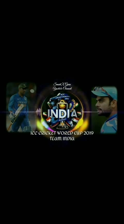 INDIA world Cup 2019 #roposo-sport #cricketteam #cricketfans #cricketers #cricketmatch #indian_cricket_team #world_cup_2019 #winner