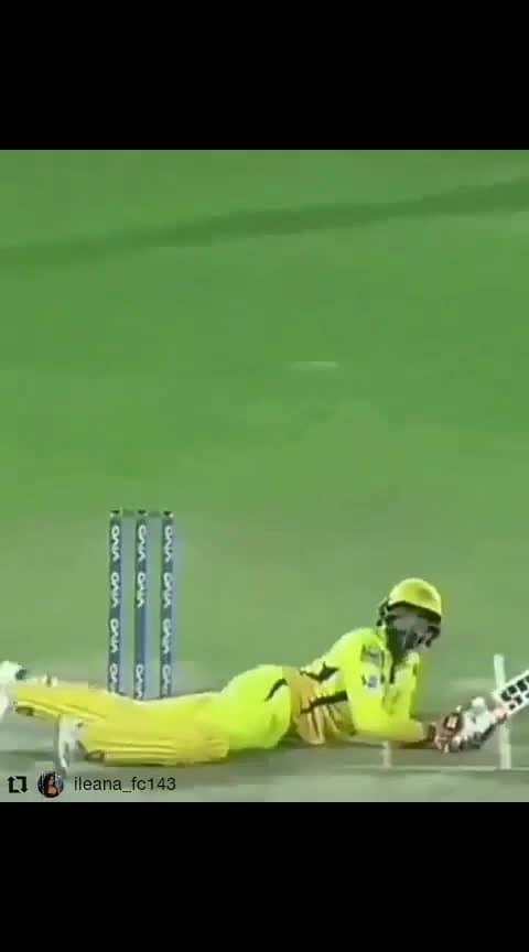 Bhag jaddu bhag #dhoni-csk #csk #msd #msdhoni #msdhoni7 #msdhonitheuntoldstory #dhonifan #wc2019  #dhoniforever #mahendrasinghdhoni #msdbirthday #cskfans #cskforever ##yellowfever #jaddu #ipl #ipl-2019 #ipl2019 #crixket #cricketlovers #cricketfan #cricket