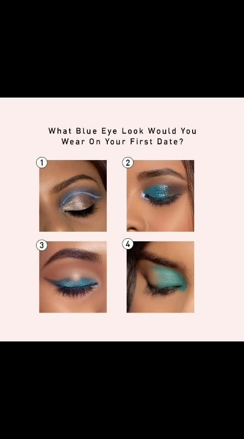 👁️1,2,3 or 4? 👁️⠀ #myglamm  #indianmakeup  #indianbeauty  #indianblogger  #lookbook #lookgoodfeelgood #lookgoodfeelgoodchannel #fashionquotient #fashionquotientchannel #followall