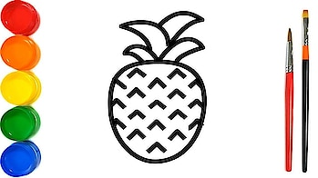 Colouring 8 Fruits pineapple || Painting for Toddlers and drawing for kids || Drawing World Kids please subscribe my youtube channel. #paintings #painting #drawings #drawing #art #colouring #colouringpages #drawings #art #drawing #sketch #artist #draw #artwork #illustration #sketchbook #painting #instaart #artistsoninstagram #pencil #arts #arte #digitalart #anime #creative #artsy #sketches #doodle #sketching #illustrator #artistic #ink #paintings #painting #pencildrawing