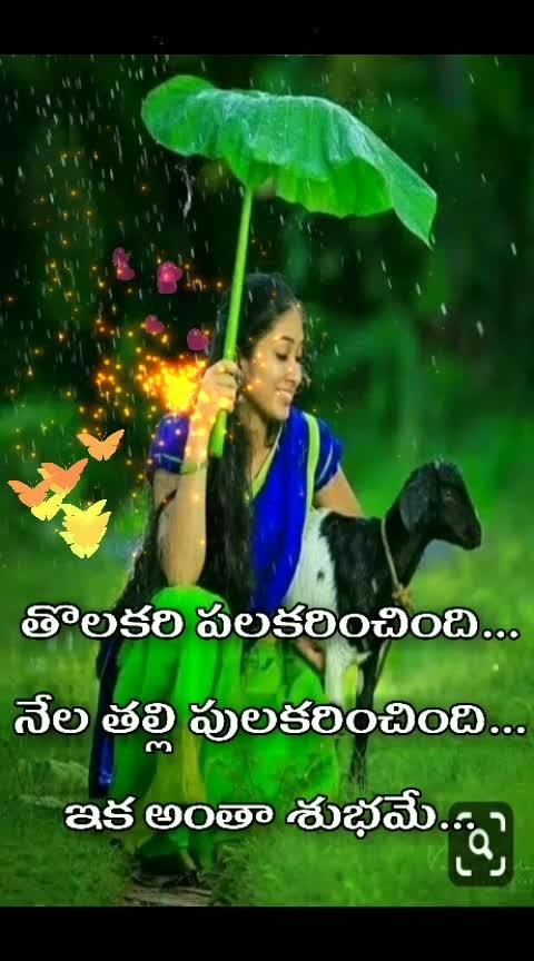 #goodmorning-roposo #raining #varsham #innallu #ennaallaku #vana #singerchithrajee #nuvvostanante_nenodhantana