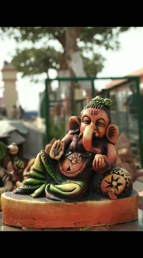 #photooftheday #ganpatibappamorya #sharp #aongs #alone #blessed #powerful
