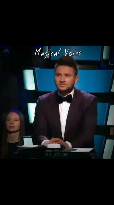 #Magical voice