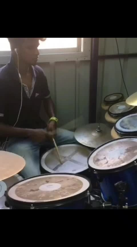 #drums-of-heaven #aniruthravichander #-----roposo #ropso-star #roposo-music