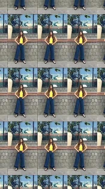 casual look💛 #fashionvideo #summerlook #fashionvideos #roposofashionblogger #summerfashion
