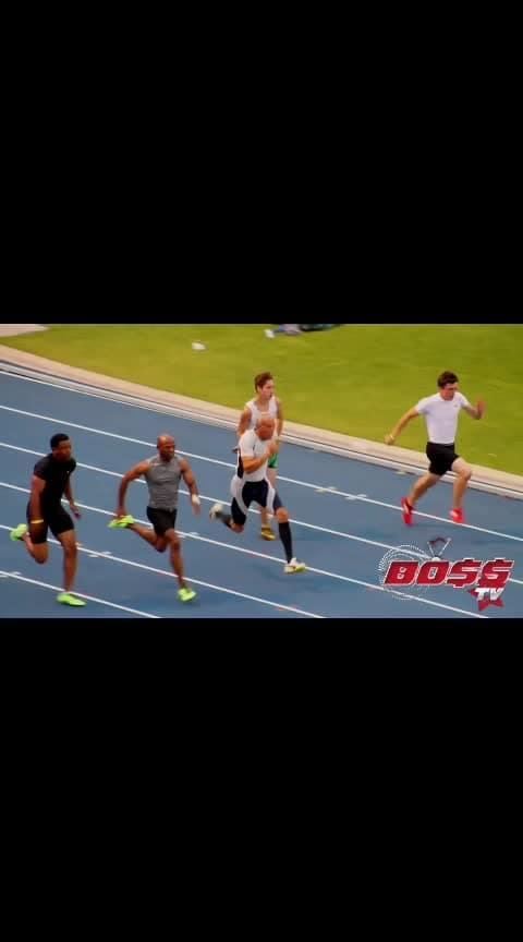 100m race 70+ old man won #trendeing