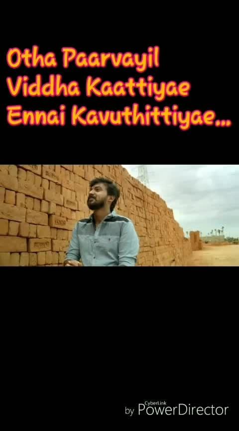 otha parvaiyil#lovestatus #tamillove #othayadipathaiyila #love----love----love #othayadi_pathayile