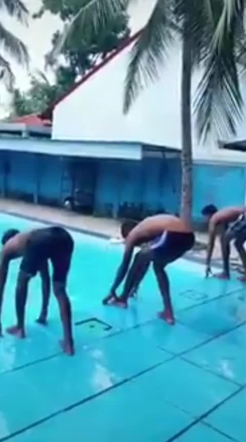 #swimmingpool #champions 😂😂😂