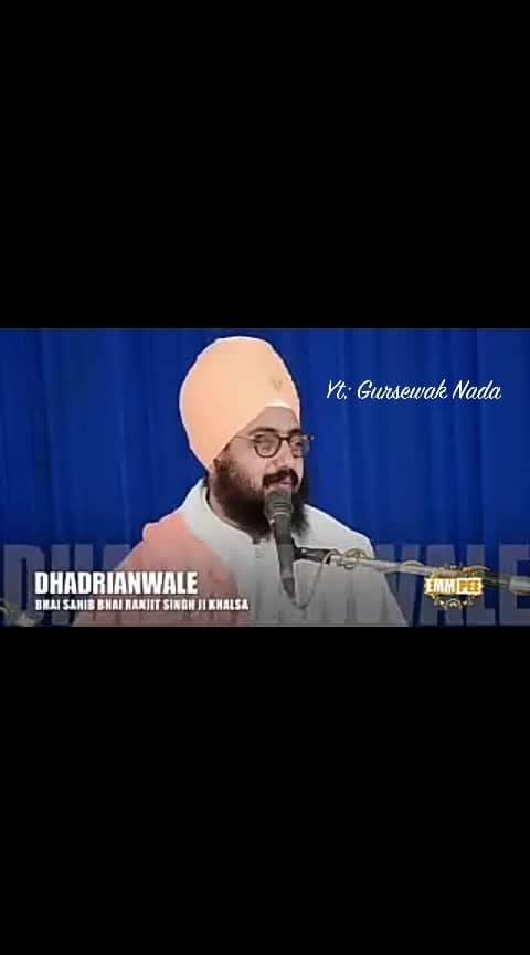 #dhadrianwale #dharmik #roposo-video