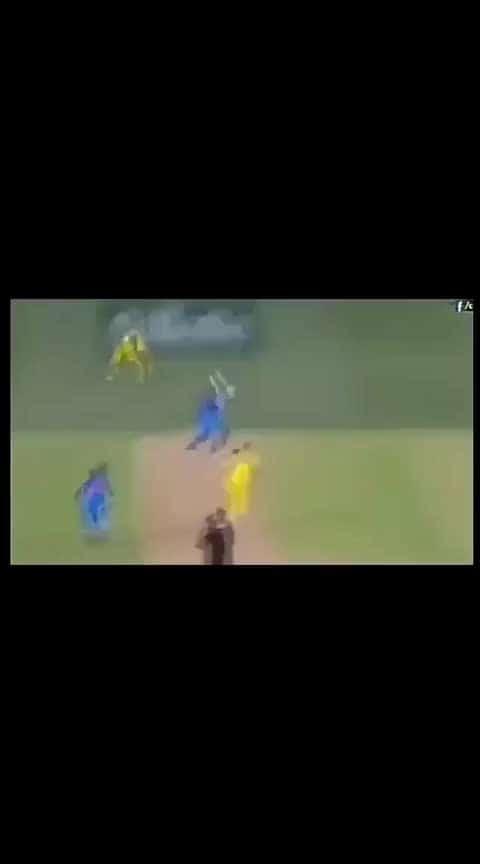 #dhoni#super stretch move