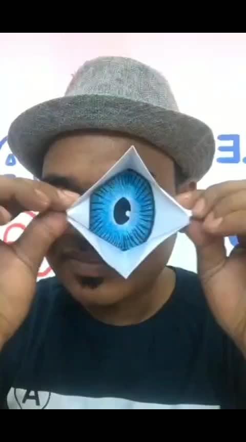 #papercraft #eye
