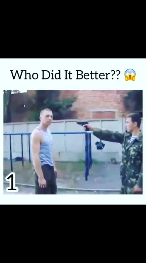 who Did It Better #wow  #roposo-wow  #fighting  #fightscene