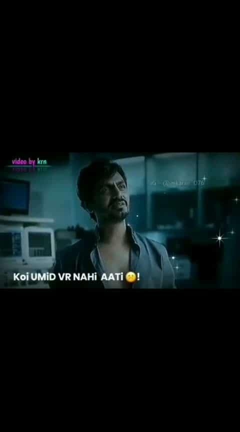 #koi-umeed vr nahi aati