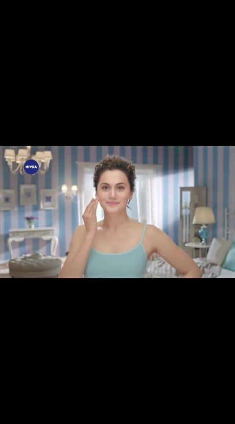 @NIVEA_INDIA Now get fresh and moisturised skin in a snap! Watch how @taapsee gets her best look for the day in seconds with the non-greasy NIVEA Soft moisturising cream. #GetFreshGo #NIVEAForYou