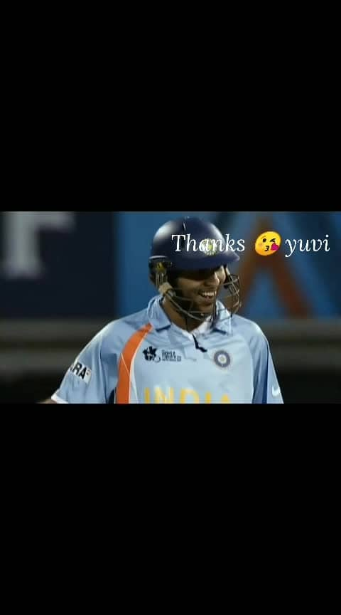 #yuvraj_singh  thankful for you forever