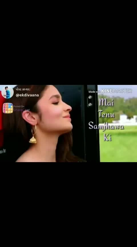 #maitenusamjhawaki #newstatus #viral #love-status-roposo-beats