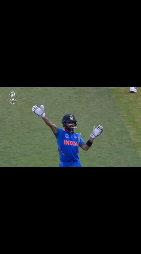 #Thats Kohli#Virat asking fans to clap for Smith instead of booing.