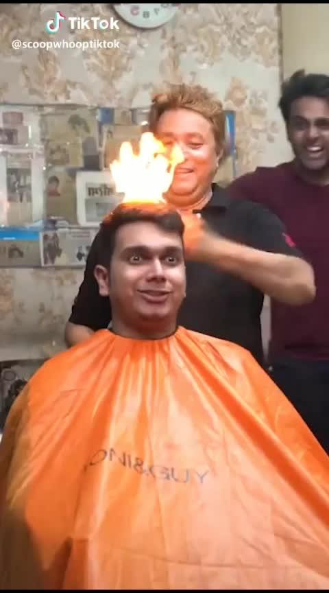 #need a haircut. .🤔 #lol-roposo  ##lol.  #caption #bakchodi
