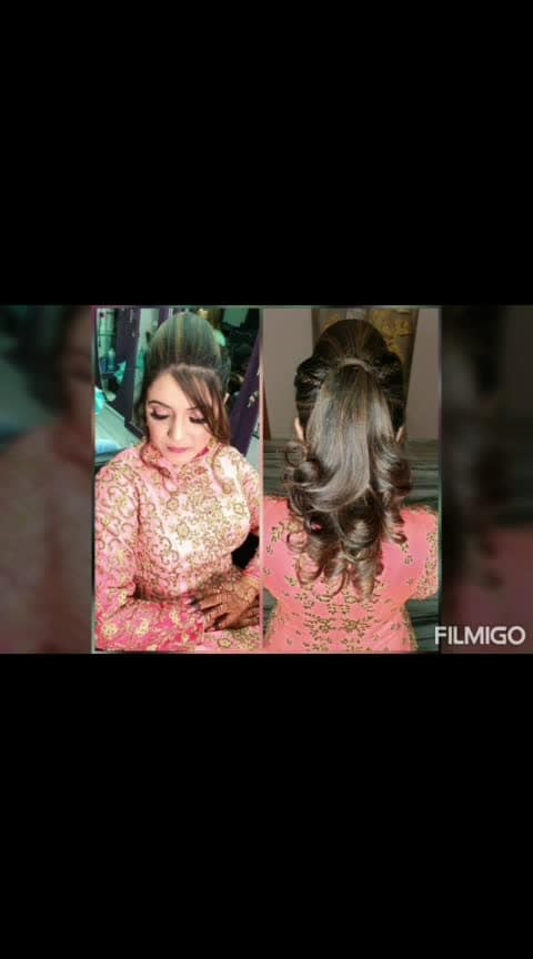 Give a bride a right confidence so that she can conquer the HEARTS  Hair:@dimple_panjwani2315  Makeup:@bhumika.themakeupartist  Nails:@dimple_panjwani2315  At:@theglamstudioin  one stop solution to all the bridal needs  for further inquiry or booking  contact:8855085000/02512706666 #hair #hairstyle #instahair #hairstyles #haircolor #haircolour #haircolor #hairdye #hairdo #hairoftheday #hairideas #haircut #longhairdontcare #braid #fashion #instafashion #straighthair #longhair #style #straight #curly #black #brown #blonde #brunette #braidideas #perfectcurls #hairfashion #hairofinstagram #coolhair
