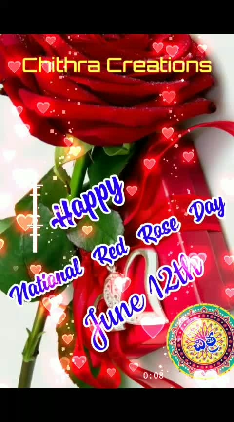 #national red rose day