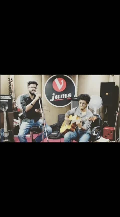 Haareya part 2  #roposo-music #music  #bollywood #ayushmannkhurrana  #singer #guitar #acoustic #indian #delhi