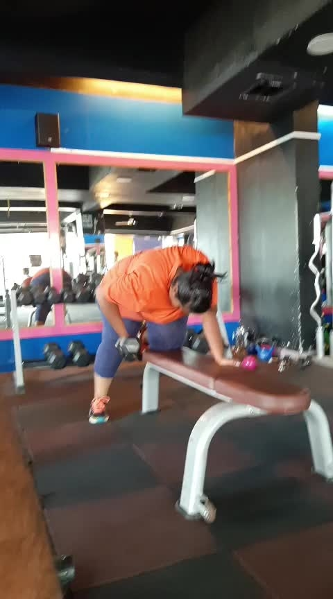 Dumbells pull Liftings Side by side 20x4 (just maintain bending position and body posture, then do proper training exercises