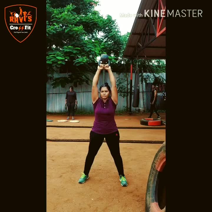 Try this FAT-burning kettlebell workout  to give your whole body a killer experience.  Here the Kettle swing mainly targets the muscles of the core, including your hips, glutes, and hamstrings, and the upper body, including your shoulders and lats.  Follow & DM for Fatloss Transformation guidance and nutritional consultation  📞9942601333   #kettlebells #fitness #workout #raviscrossfit #crossfit #cardio #strength #kettlebell #training #motivation #personaltraining #kettlebellworkout #squats #fitnessmotivation #nutrition #raviscrossfitcoimbatore