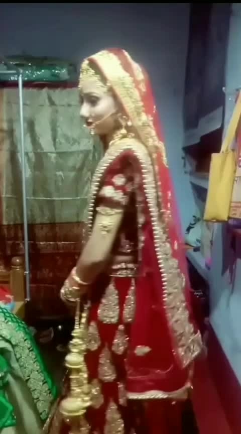 #aaj  #meri  #shaadi   #hai  #mariage #mariage_ceremany #lovemarriage #shadi #kangan #marriage makup