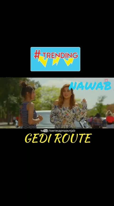 #roposo  #nawab #gediroute  #roposo-trending