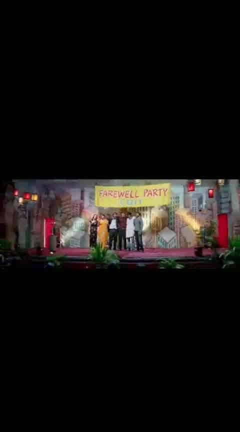 #varunsandesh #tamanna #nikhil #happydays #videosong #farewellparty #whatsapp-status