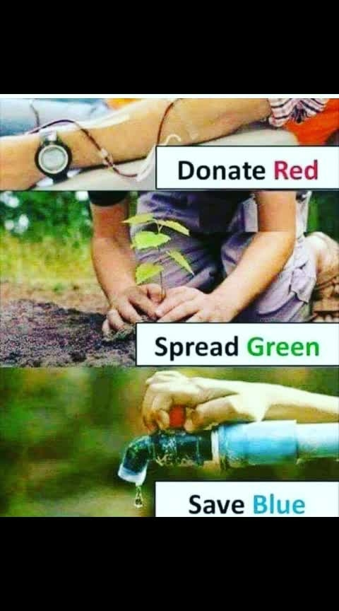 #save_trees #savewater #donate_blood
