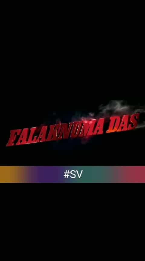 #falaknumadas 2019 Trailer #vishwaksen #movie-dialogues #roposo_telugu #roposoedit