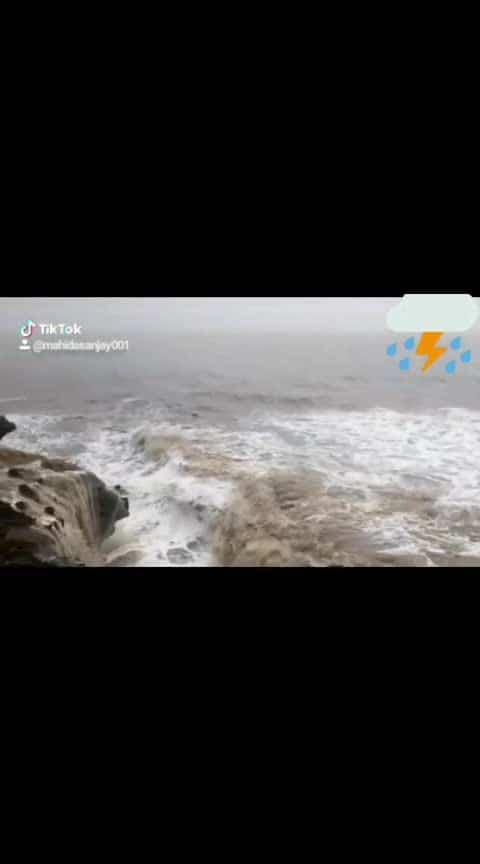 #somnath #cyclone-vayu #gujarat