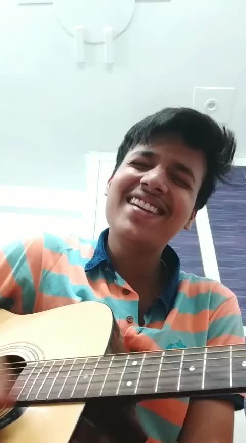 Kya hua tera wada❤💙💚💜💛. #roposo #talent #talentswag #guitar #singer #musician #love #risingstar #roposostars