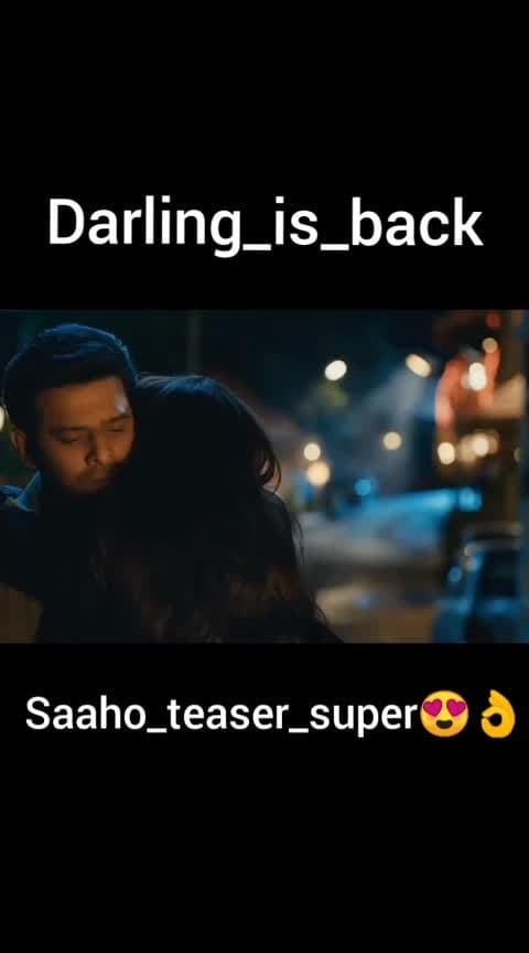 saaho_teaser.#saaho #saahoteaser #prabhas #shraddhakapoor #sujeeth #saaho_darling_prabhash #teluguteaser