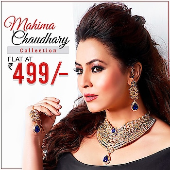 Mahima Chaudhary Necklace Collection !!!!💕 At Rs.499/- Shop Now : https://bit.ly/2ZrAZRB  Or Whats App Us on 9867662341 📱 ✔ Cash On Delivery Available  #necklace #designer #earrings #sale #jewellery ##Mahimachaudhary #instajewelry #Instafashion #JewelMaze