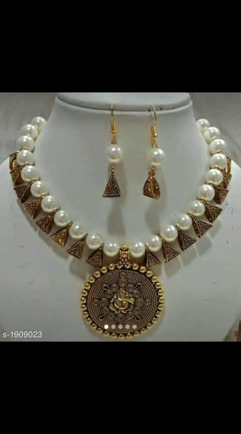 this is very nice jewelry_Don't miss out on these beautiful Jewelries Shine brighter than others._  Catalog Name: *Diva Divine Brass Women's Jewellery Sets*  Material: Brass  Size:Free Size   Description: Variable ( Message Us For the Details)  Work: Beads Work  Dispatch: 2 - 3 Days  Designs: 7  Easy Returns Available in Case Of Any Issue