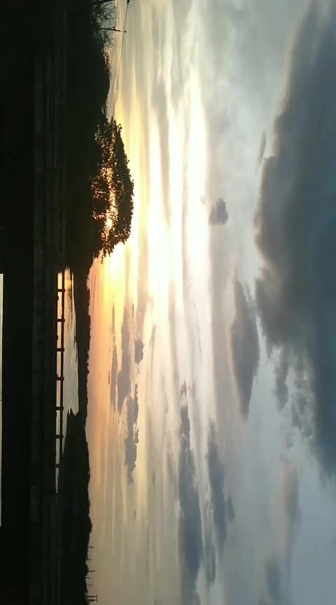 #naturelover #eveningvibes #sky #96-vijaysethupathi-trisha-whatsapp #96trisha