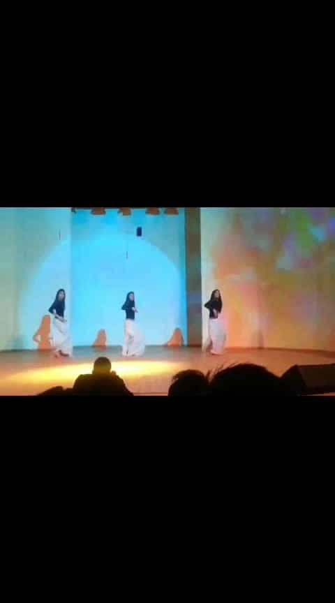 cultural night dance performance...  #culturalfest #youtubecreators 😍