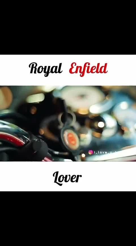 #royal #royal-enfield-lover #bullet #loveit