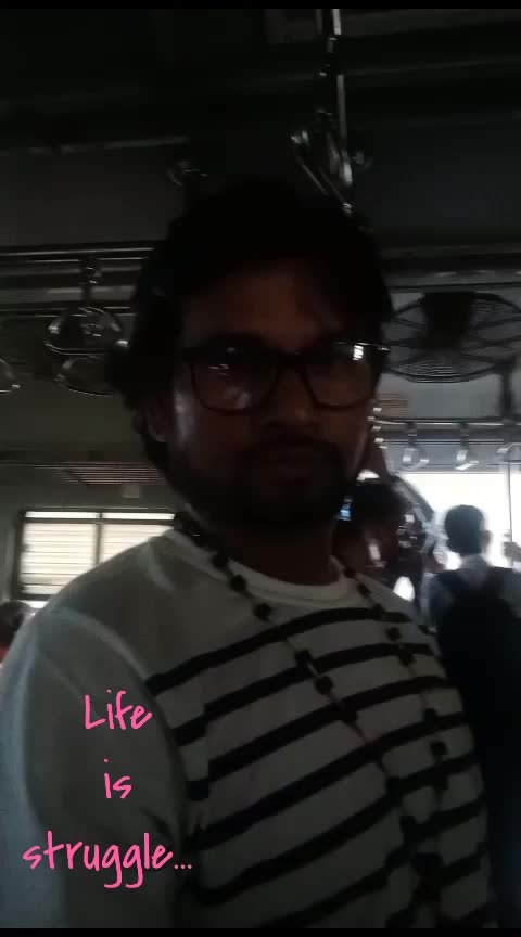 Mumbai#local#train#struggle# #Actor#Zubair#Ali#Khan#...