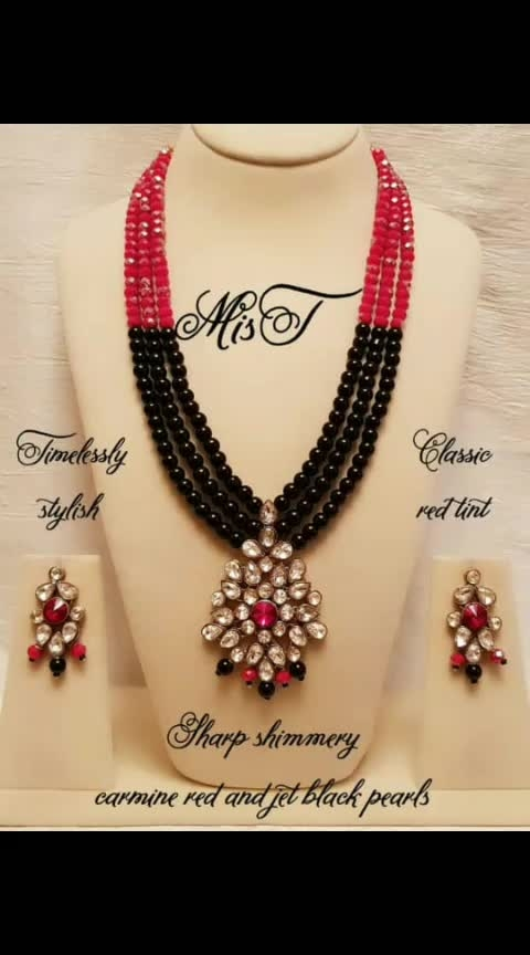 Sometimes just beads make a solid impact in soothing pastel shades here are the necklace's that stand out #boldandbeautiful  #whattsappon9444510156tobuy  #whattsappon9442337275tobuy