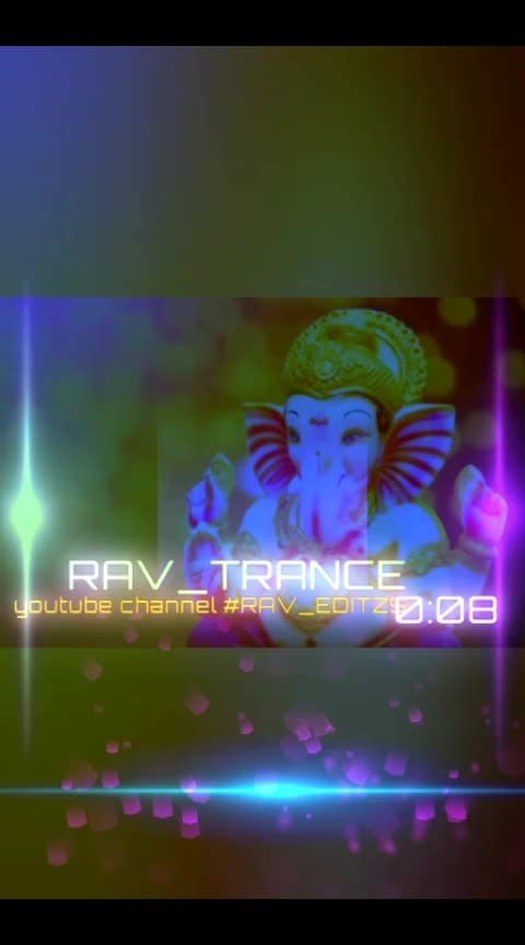 My new creation RAV_TRANCE #lordganesha #dj #trance