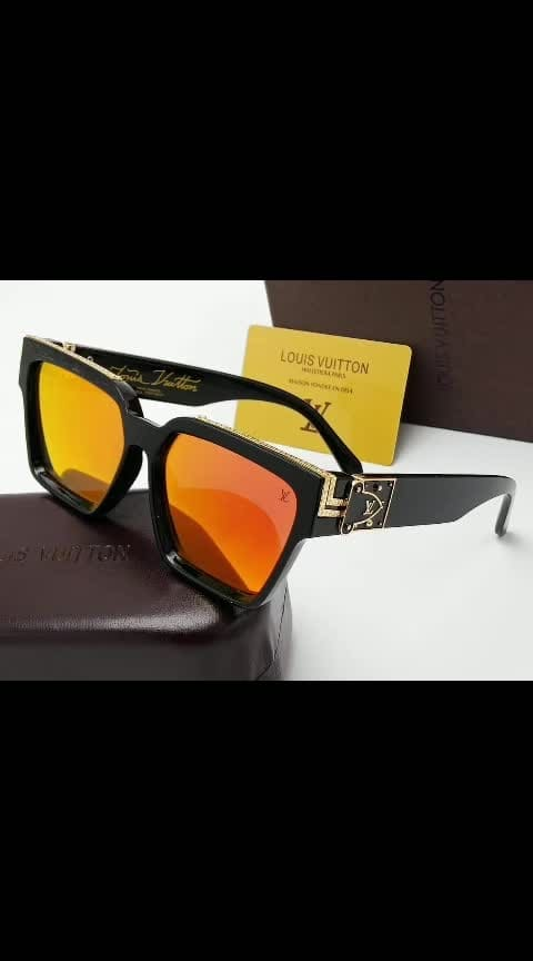😍 *LV FOR HIM* 😍 🕶🕶🕶🕶🕶🕶🕶🕶🕶🕶 👉 STORE ARTICLE 👉 VERY HIGH QUALITY 👉 100% UV PROTECTED 👉 WITH ORIGINAL BRAND BOX AND ACCESSORIES 🕶🕶🕶🕶🕶🕶🕶🕶🕶🕶 💰 *PRICE 999/-*   ⛵ *SHIPPING FREE*⛵