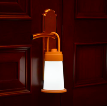 This soothing nightlight can also be used as a table lamp for reading!   #quirky #lighting #studygram #lamp #lights #innovative #fun