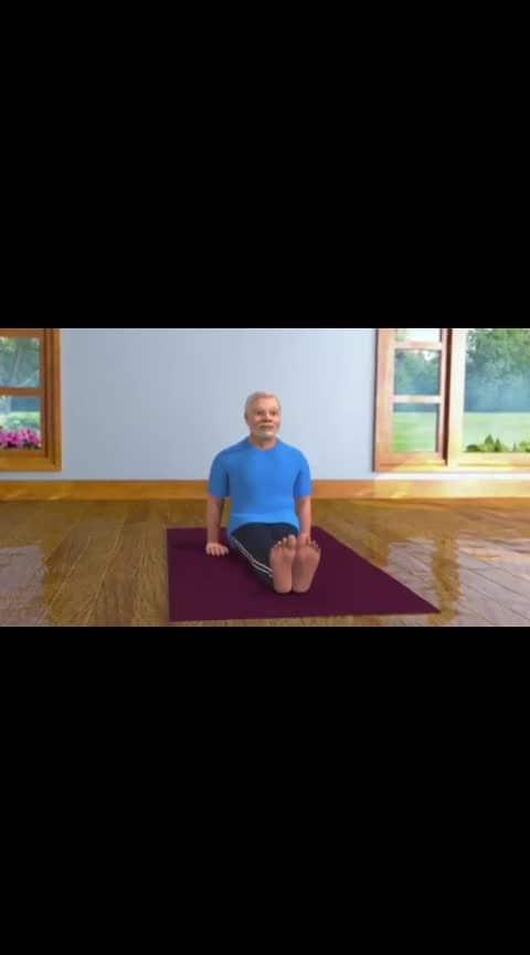 pm modi yog #yogaeverywhere #narendramodi #pm-modiji-namo