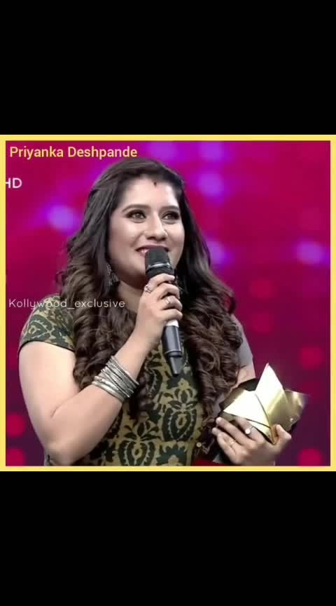 Priyanka the best entertainer... @tamizhan_world360  @tamizhan_world_180  @kollywood_exclusive . . . . . . . . .  #vijaytelevision #ramar #thangadhurai #vadivelbalaji #dheena #vadivelbalaji😂 #doublemeaning #comedy #sirichapochu #kalakapovathuyaru #kalakalchampions #vadivel #funnyvideos #athuithuethu #dubsmash #hilarious #priyanka #vijaytv #vijaytelivision #singer #shortfilm #kpy #jacquline #lovequotes #vivo #bigboss #vivobigbosstamil #vijay #oviyaarmy