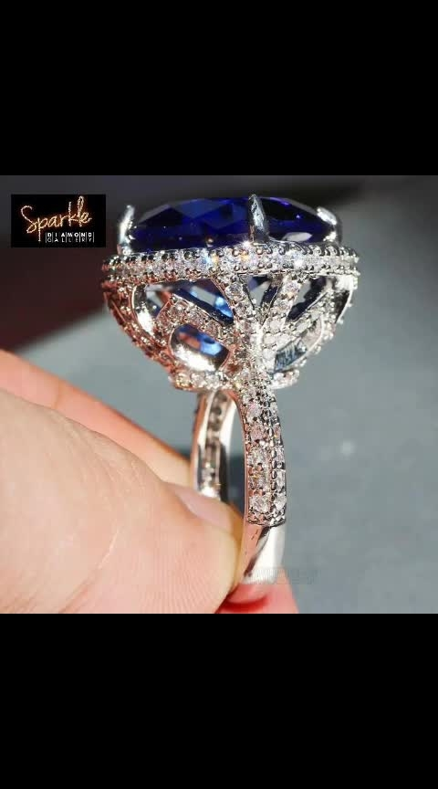 🎇 *SPARKLE PRESENTS* 🎇  🛑 *AGAIN BACK IN STOCK* 🛑  *PRINCESS CUT 👸 BIG DIAMOND 💎 LUXURIOUS RING* 💍  🎇 *SPANISH 🇪🇸 DESIGN*  🎇 *18+ CARAT CUTWORK ZIRCON BLUE DIAMOND 💎 *  🎇 *4 PRONG SETTING*  🎇 *EXPENSIVE CUTS WITH ROYAL LOOK*  🎇 *SIDES FULL OF SMALL WHITE DIAMONDS 💎 *   🎇 *STERLING SILVER*  🎇 *WITH S925 STAMP 🕹*  🎇 *💯 % STUNNING QUALITY*  🎇 *SIZE 6 - 7 - 8 AVAILABLE*  *WITH BEAUTIFUL SPARKLE GIFT 🎁 BOX PACKING*   ❌ *NOTE:- WE ARE NOT SELLING ANY FAKE OR COPY PRODUCTS. THIS IS PURE HIGH QUALITY AUTHENTIC STUFF* ❌