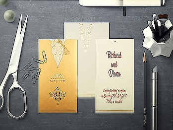 Foil Stamped wedding invitations features a retro-inspired design that gives a more elegant look to your invitation card. these wedding invitation cards also have a specific minimalist look that allows you to highlight the important sections of an invitation.  Shop at https://www.indianweddingcards.com/foil-stamped-wedding-invitations  #indianweddingcards #weddingcardsindia #weddingcardsonline #onlineweddinginvitations #foilstampedweddinginvitatons #weddinginvitationcards